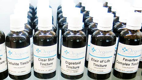 Improve your skin with a shot of The Organic Pharmacy Clear Skin Tincture