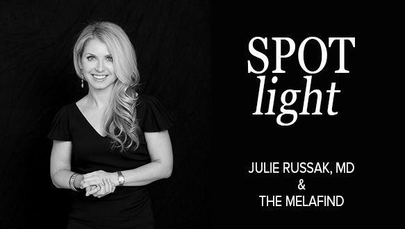 Charlotte's Book Premier Provider and NYC Dermatologist Julie Russak is an expert at skin cancer screening.