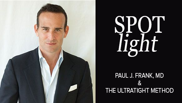 Spotlight on Dr. Paul J. Frank and the UltraTight Method