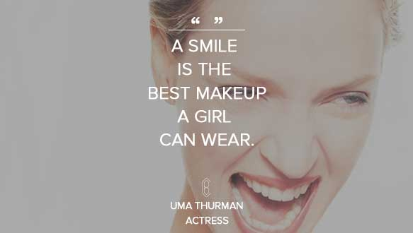Uma Thurman Beauty Quote