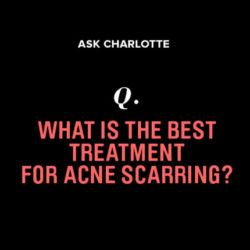 What's the best way to treat scarring from cystic acne?